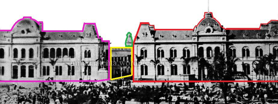 casa de gobierno, palacio de correos y casa de virreyes