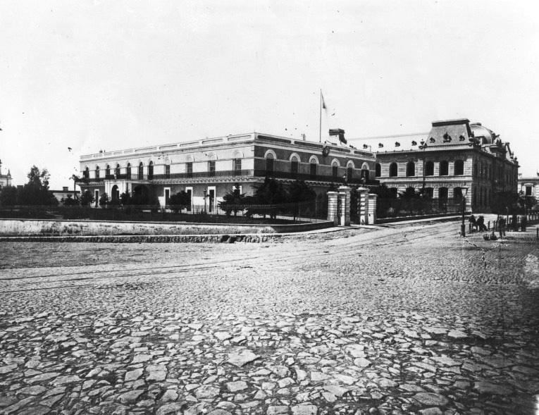 palacio correos y fuerte