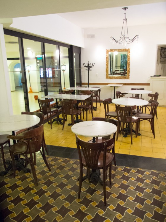 "Restaurante del ""Cine Palace"", Santa Cruz de la Sierra, Bolivia / BAinspiration"