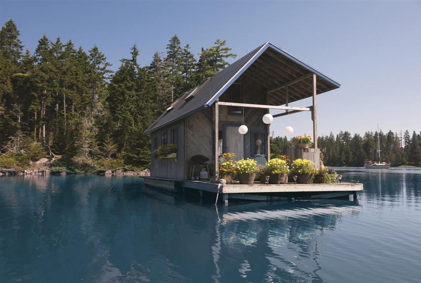 Casa flotante, 22,3 m². / countryliving
