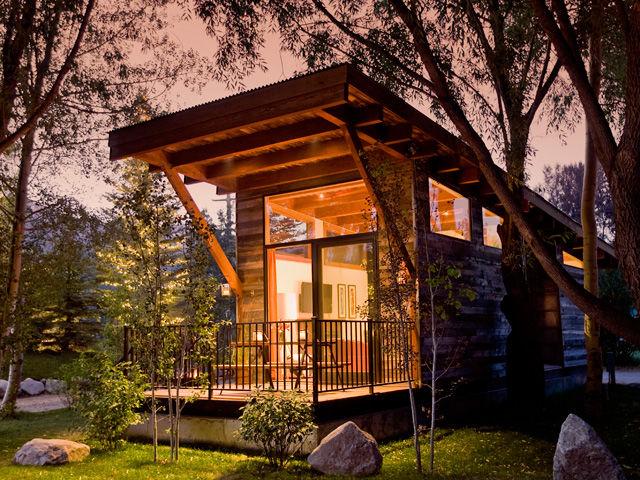 Esta cabaña rodante de 37 m² costó 82 mil dólares. / countryliving
