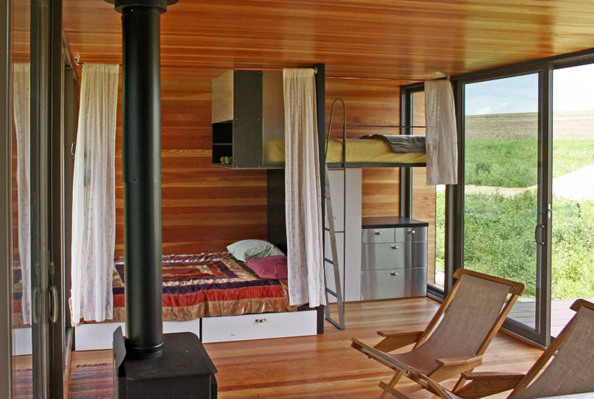 Casa Rodante, Minnesota. Mide 31 m². / countryliving