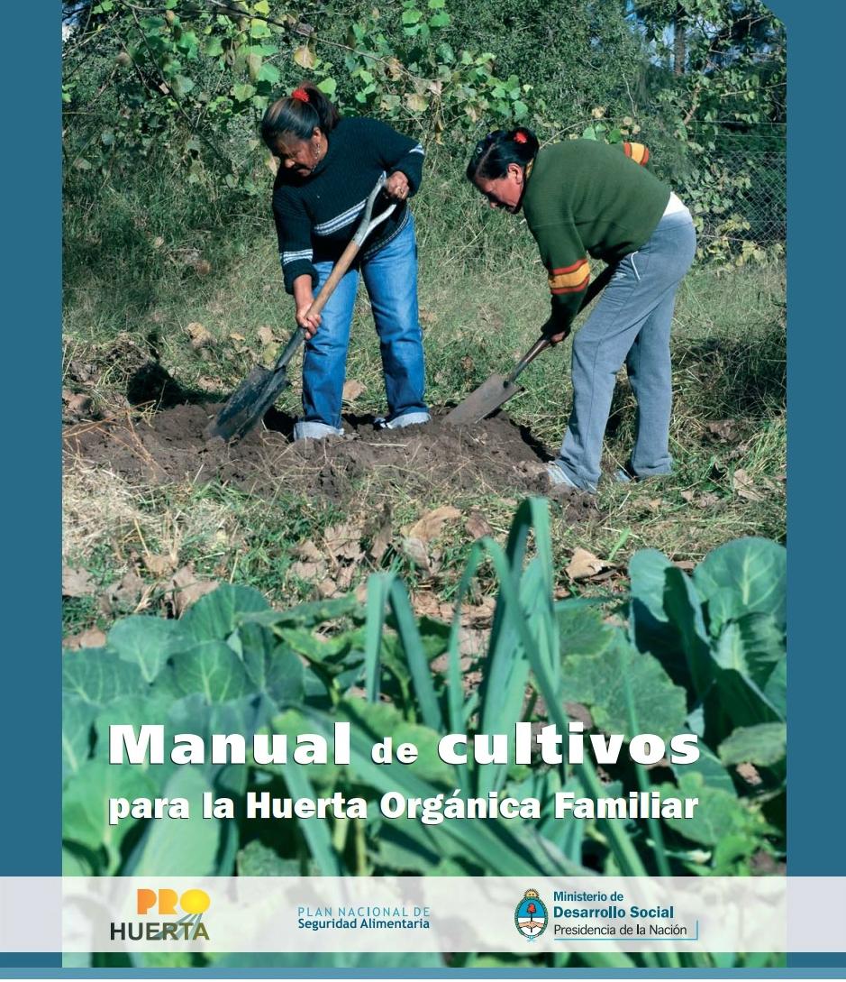 Manual de cultivos para la huerta org nica familiar - Trabajos manuales para realizar en casa ...
