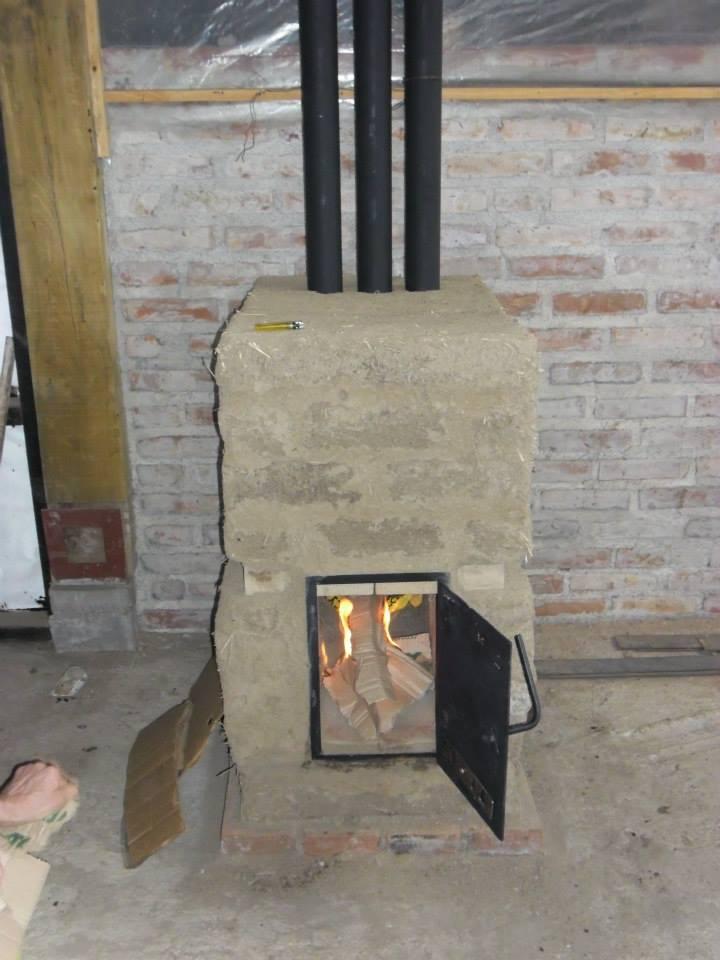 Manual para construir una estufa de adobe construir tv for Estufas de alto rendimiento a lena
