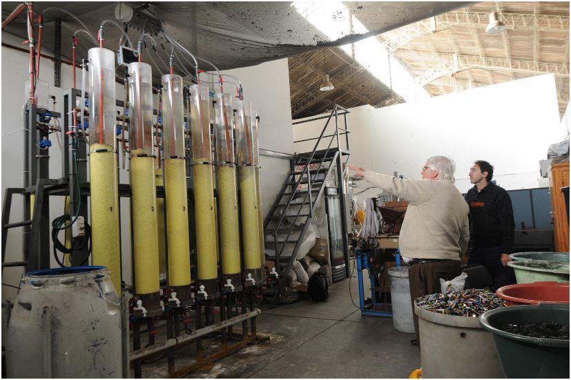 La planta tiene capacidad para reciclar entre 80 y 100 kilos por mes / Buendiario