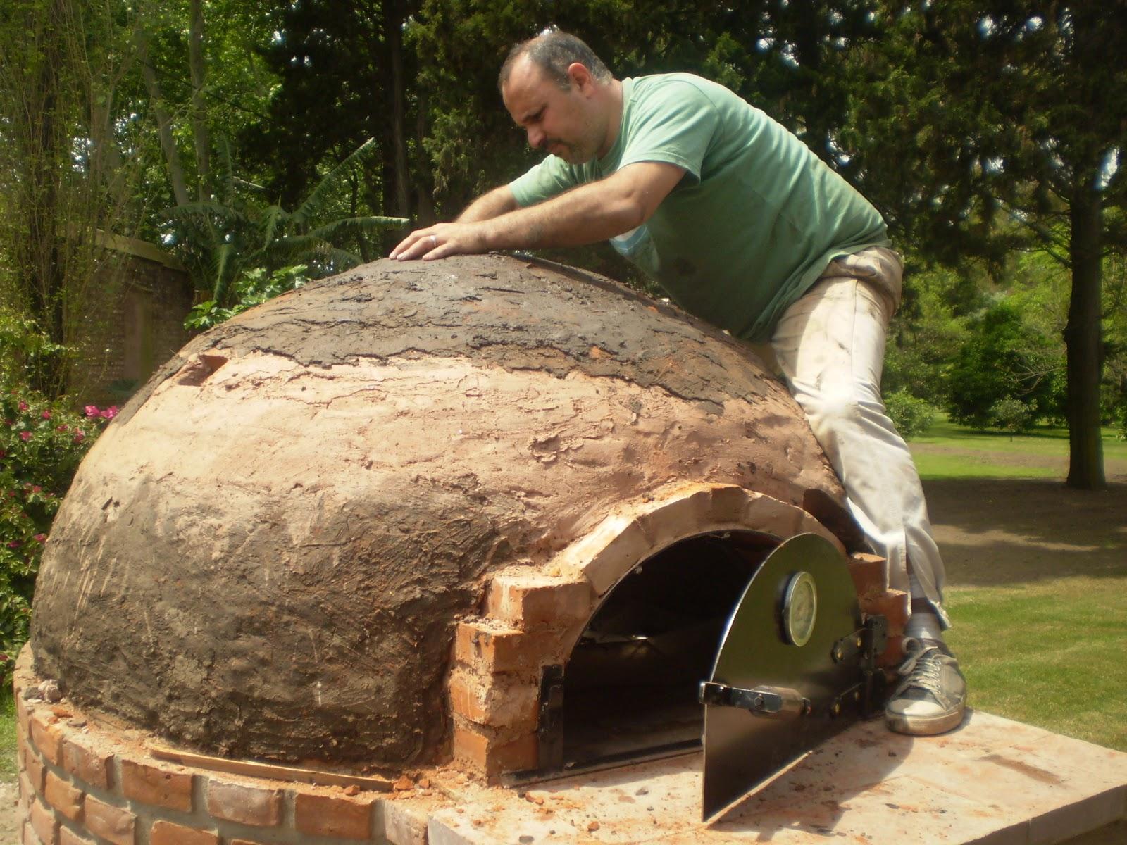 Manual para construir un horno de barro construir tv - Horno de piedra casero ...