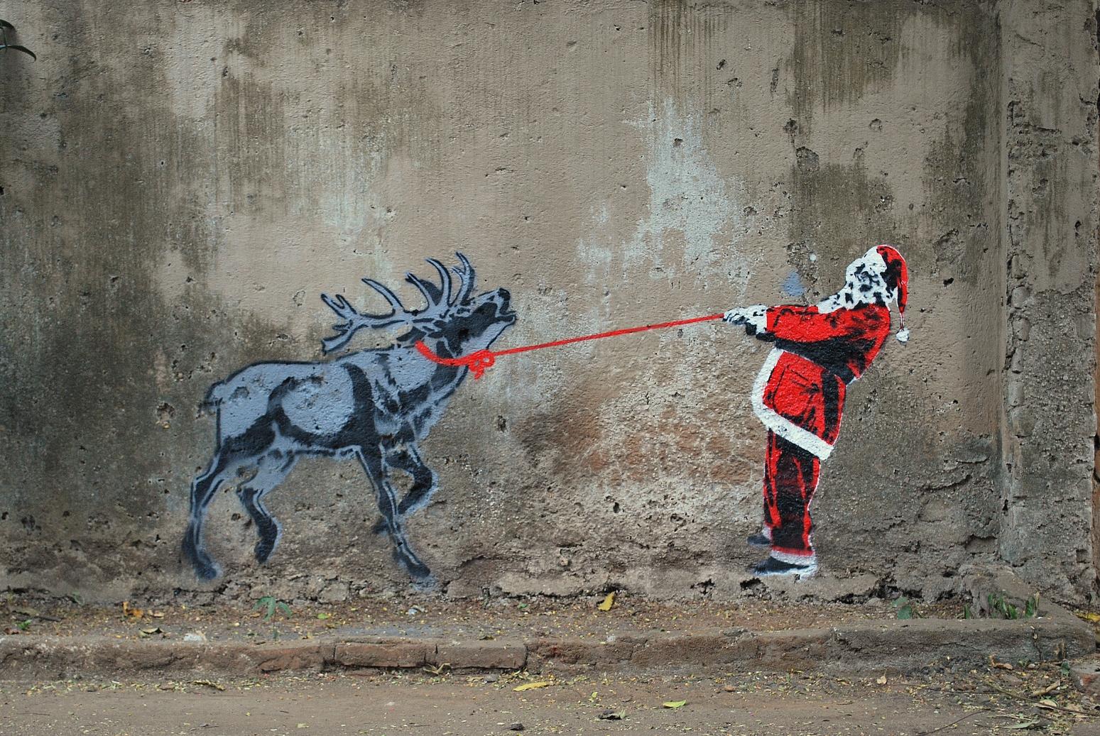 граффити поздравления с новым годом тех