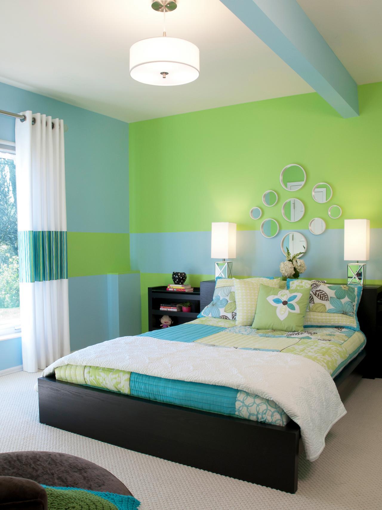 El verde, combinado con otros colores, queda bien en cualquier ambiente - harrisforcitycouncil