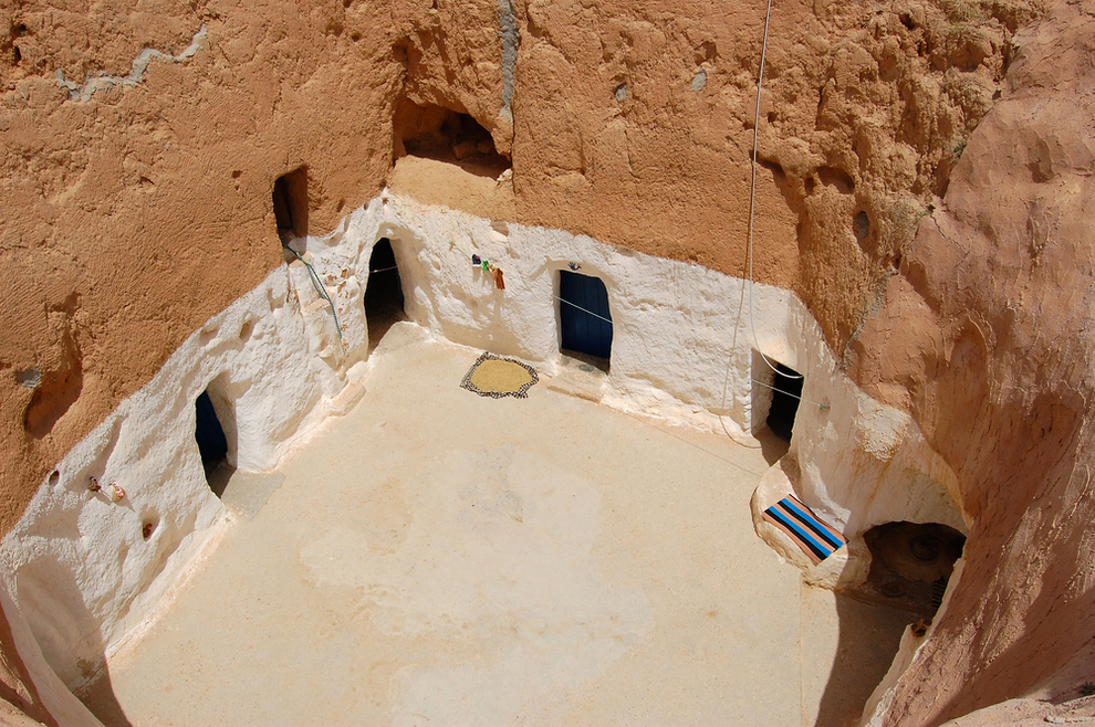 Villa Matmata, Túnez / BuzzFeed