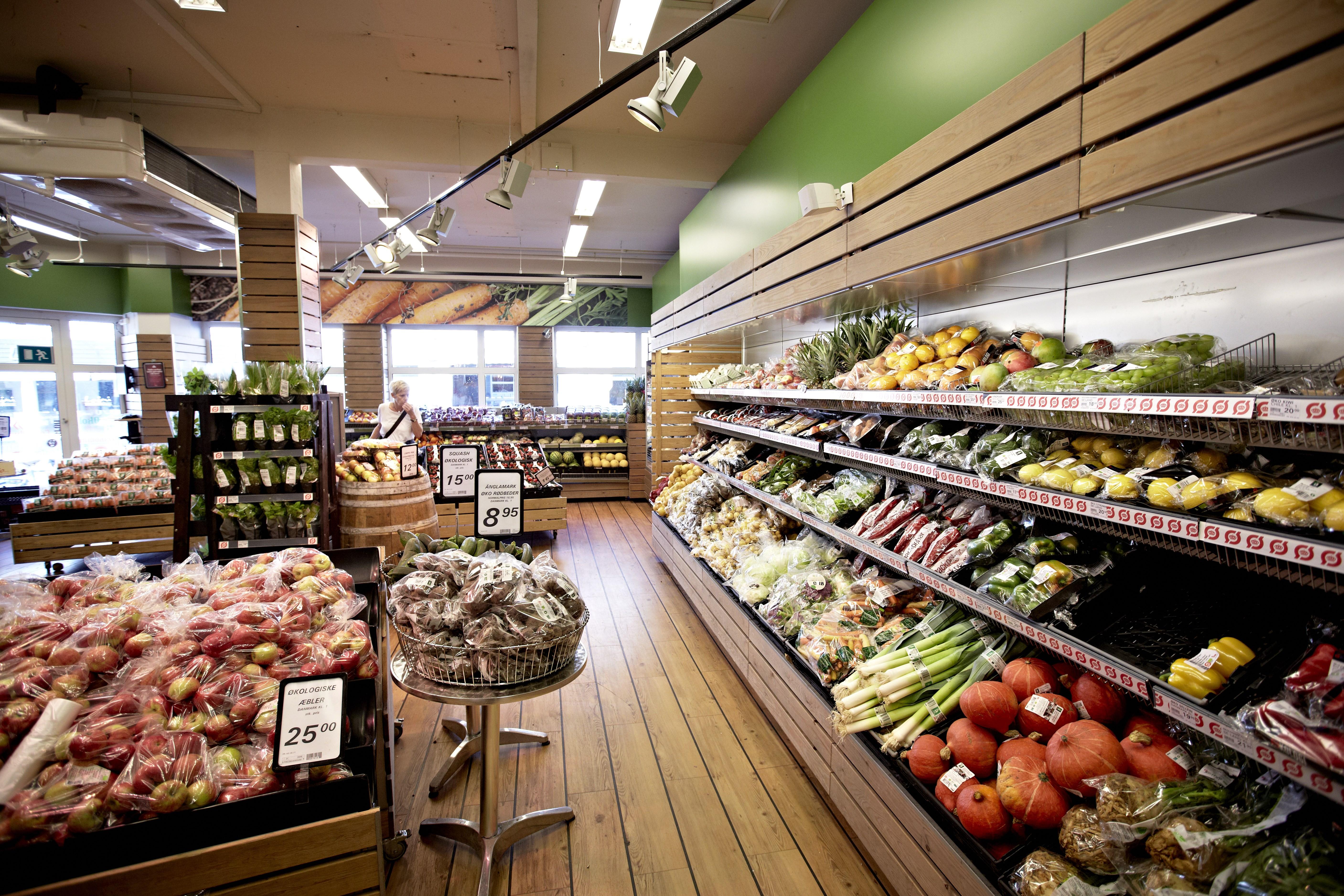 Supermercado orgánico en Dinamarca / Organic Denmark