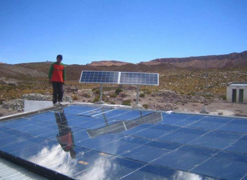UN PUEBLO JUJEÑO ABASTECIDO CON ENERGÍA SOLAR