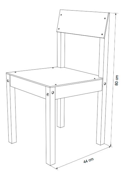Planos para construir muebles de madera construir tv for Sillas para planos