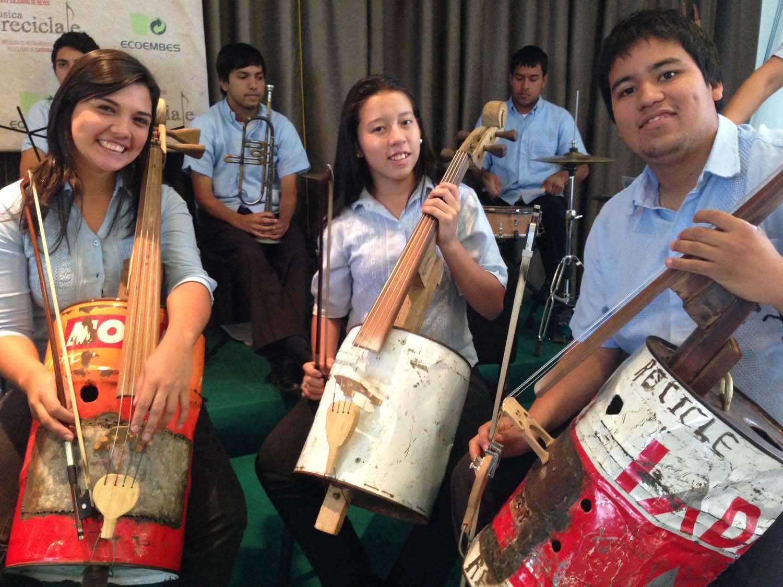 Cellos fabricados con basura / España Recicla
