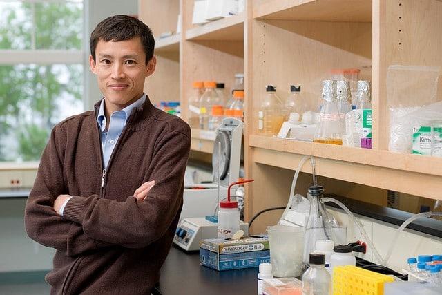 Doctor en Física Voot P. Yin, del Laboratorio Biológico MDI, uno de los autores de la investigación. / MDislander